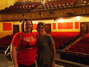 Melisa and Tracey at The Athenaeum Theatre, Chicago IL