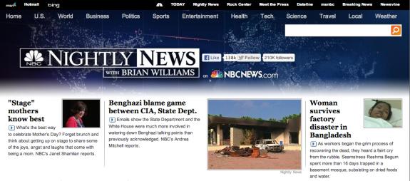 LTYM on NBC NN site